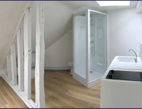 Rénovation d'une chambre de service – Paris 10